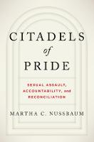 Citadels of Pride: Sexual Abuse, Accountability, and Reconciliation (Hardback)