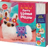 Sew Your Own Furry Llama Pillow - Klutz