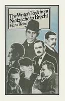 The Writer's Task from Nietzsche to Brecht (Paperback)
