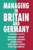 Managing in Britain and Germany (Paperback)