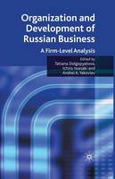 Organization and Development of Russian Business: A Firm-Level Analysis (Paperback)