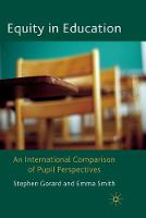 Equity in Education: An International Comparison of Pupil Perspectives (Paperback)