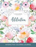 Adult Coloring Journal: Addiction (Sea Life Illustrations, Le Fleur) (Paperback)