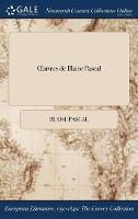 Oeuvres de Blaise Pascal (Hardback)