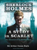 A Study in Scarlet: A Sherlock Holmes Novel - Sherlock Holmes 1 (CD-Audio)