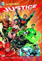 Justice League HC Vol 01 Origin (Hardback)