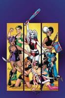 Harley Quinn And Her Gang Of Harleys (Paperback)