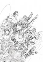 Justice League Unwrapped By Jim Lee (Hardback)