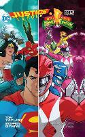 Justice LeaguePower Rangers HC (Hardback)