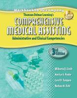 Workbook for Lindh/Pooler/Tamparo/Dahl's Delmar's Comprehensive Medical Assisting: Administrative and Clinical Competencies, 3rd