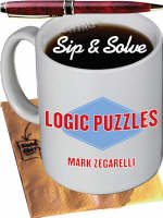 Logic Puzzles - New Sip & Solve (Paperback)
