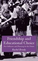 Friendship and Educational Choice: Peer Influence and Planning for the Future (Hardback)
