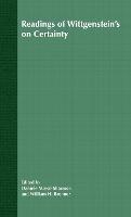Readings of Wittgenstein's On Certainty (Hardback)