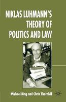 Niklas Luhmann's Theory of Politics and Law (Paperback)