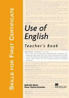 Use of English: Skills for First Certificate Use of English Teacher Book Teacher's Book (Board book)