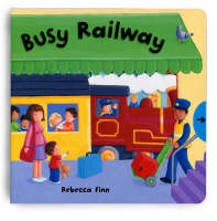 Busy Books: Busy Railway (Board book)