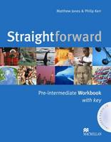 Straightforward Pre Intermediate Workbook Pack with Key