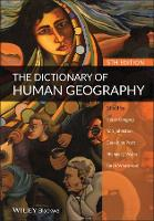 The Dictionary of Human Geography (Hardback)