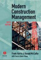 Modern Construction Management (Paperback)
