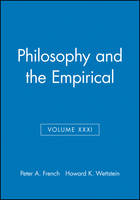 Philosophy and the Empirical - Midwest Studies in Philosophy (Paperback)