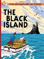 The Black Island - The Adventures of Tintin (Paperback)