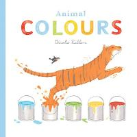 Animal Colours (Board book)