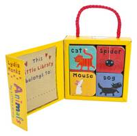 My Little Library: Animals (Board book)