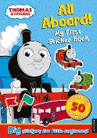 Thomas the Tank Engine All Aboard! My First Sticker Book (Paperback)