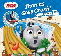 Thomas & Friends: Thomas Goes Crash - Thomas Engine Adventures (Paperback)