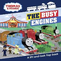 Thomas & Friends Busy Engines Lift-the-Flap Book (Board book)