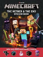Minecraft The Nether and the End Sticker Book (Paperback)