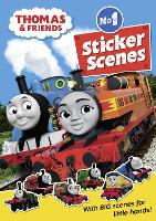 Thomas & Friends: No.1 Sticker Scenes (Paperback)