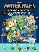 Minecraft Aquatic Adventure Sticker Book (Paperback)