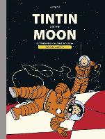 Tintin Moon Bindup (Hardback)