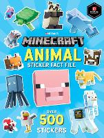 Minecraft Animal Sticker Fact File (Paperback)