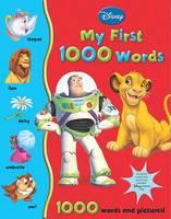 Disney First 1000 Words: My Big Book of Words (Hardback)