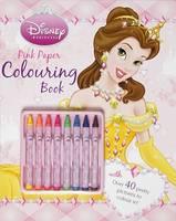 Disney Princess Pink Colouring Book