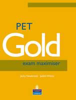 PET Gold Exam Maximiser No Key NE + Audio CD Pack - Practice Tests Plus