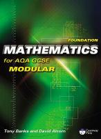 Foundation Mathematics for AQA GCSE (Modular) (Paperback)