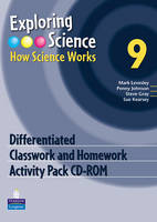 Exploring Science : How Science Works Year 9 Differentiated Classwork and Homework Activity Pack CD-ROM - EXPLORING SCIENCE 2 (CD-ROM)