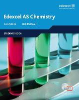 Edexcel A Level Science: AS Chemistry Students' Book with ActiveBook CD - Edexcel GCE Chemistry