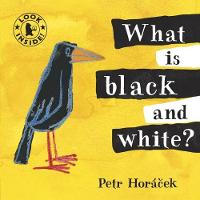 What Is Black and White? (Board book)