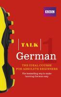 Talk German Book 3rd Edition