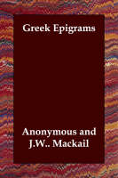 Greek Epigrams (Paperback)