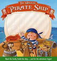 Magical Pirate Ship - Build-a-story (Hardback)