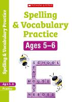Spelling and Vocabulary Workbook (Year 1) - Scholastic English Skills (Paperback)