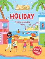 Holiday Sticker Activity Book - Scholastic Activities (Paperback)