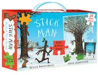 Stick Man Book & Floor Puzzle Gift Set