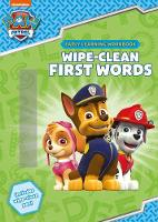 Wipe-Clean First Words - Paw Patrol (Paperback)
