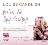 Before We Say Goodbye (CD-Audio)